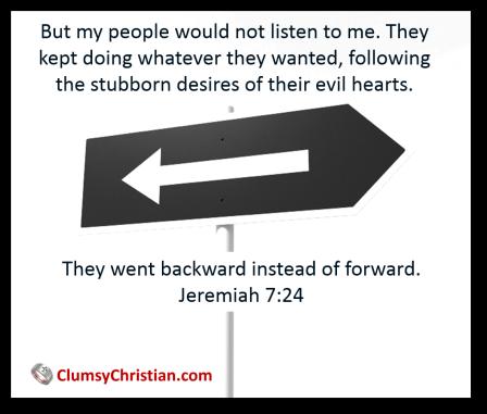 Jeremiah 7 24