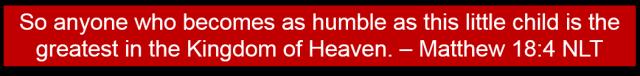 Matthew 18 4